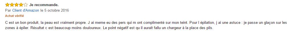 commentaire du Braun face 810